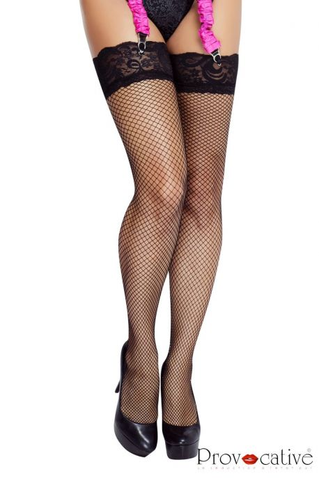 Lace top stockings PR0008